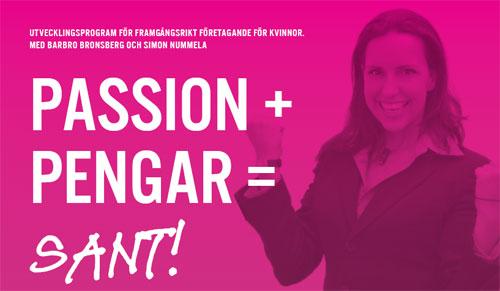 Passion pengar sant, Barbro Bronsberg, Simon Nummela
